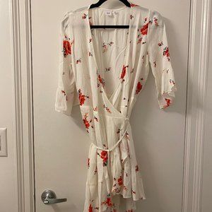 GAP Floral wrap dress 8P